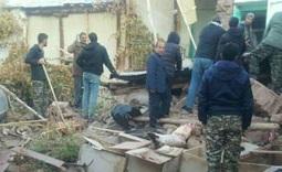 میزان خسارت زلزله در ترکمانچای +عکس