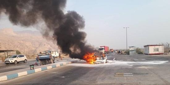 ۶ عضو خانواده در تصادف با مزدا در آتش سوختند +عکس