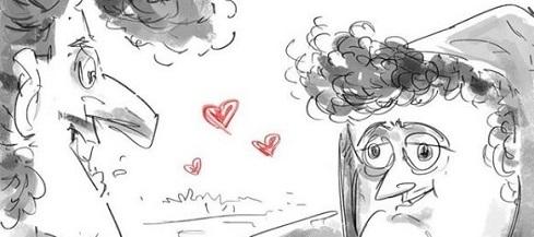 اینم عشق در یک نگاه! +عکس