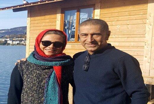 همسر فلورا سام درگذشت +عکس