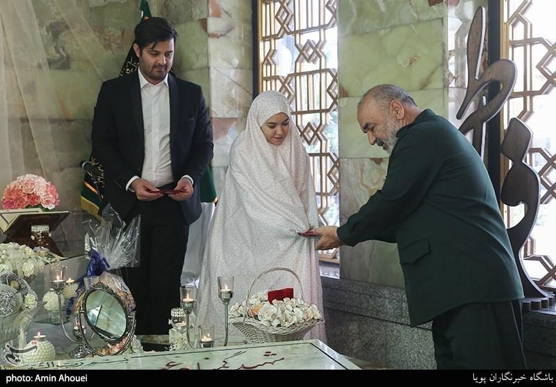 فرمانده سپاه مهمان یک مراسم عقد خاص+عکس