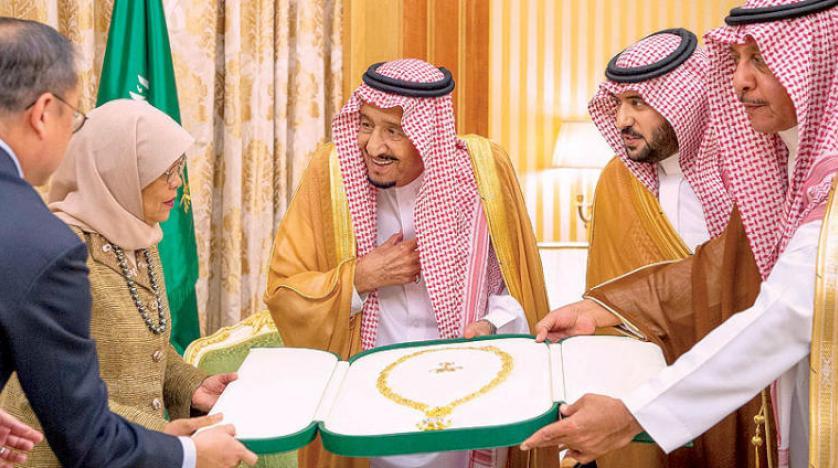 بالاترین نشان عربستان، به یک خانم اهدا شد +عکس