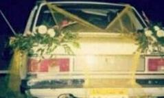 ماشین عروس لاکچری دهه ۶۰ +عکس