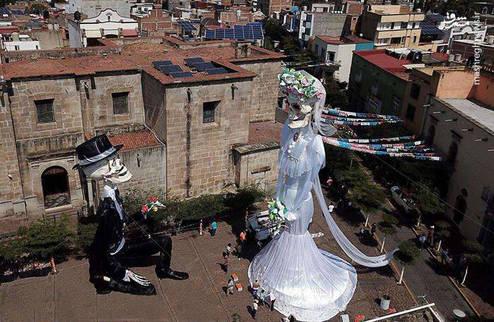 عروس ۲۰ متری! +عکس