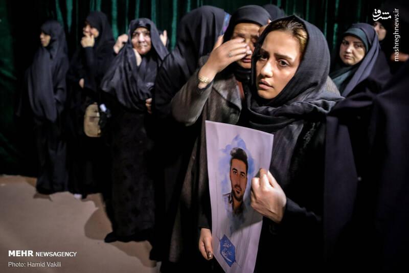 وداع دردناک با دو شهید اغتشاشات تهران +عکس