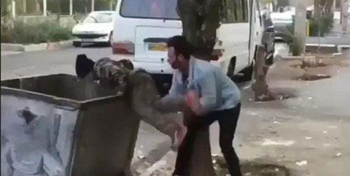 اعترافات کودک آزار ماجرای سطل زباله: دارم سکته میکنم