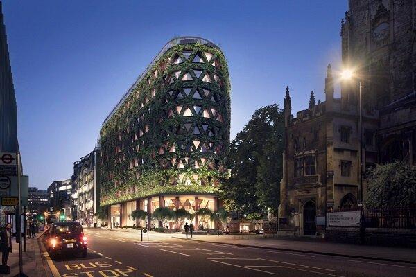 ساختمانی که سالانه ۶ تن اکسیژن تولید میکند!