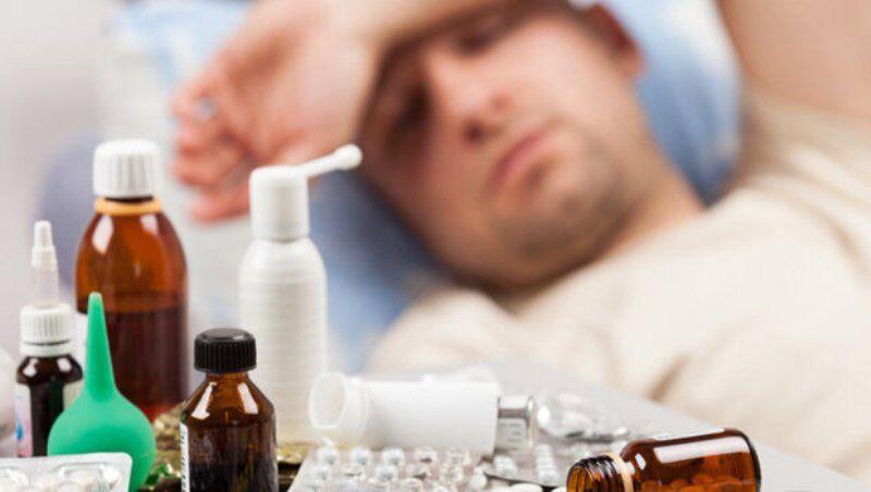 آنفلوانزا صدای ایشان را هم درآورد! +عکس