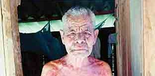 این پیرمرد ۱۲ سال به تنهایی در جنگل زندگی کرد+عکس