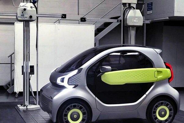 خودروی برقی ارزان که با چاپگر سه بعدی تولید میشود