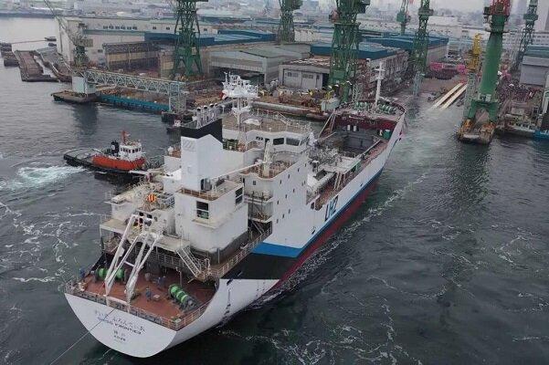 ساخت اولین کشتی جهان با سوخت هیدروژن مایع