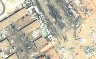 پایگاه عینالاسد قبل و بعد از حملات موشکی+عکس