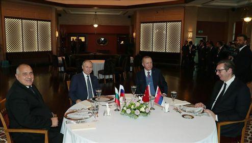 میز شام اردوغان برای پوتین +عکس