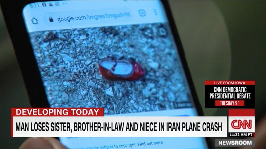صاحب کفش قرمز هواپیمای اوکراینی که بود؟+عکس