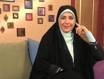 خانم مجری دست به حرم امام رضا (ع) پناه برد +عکس