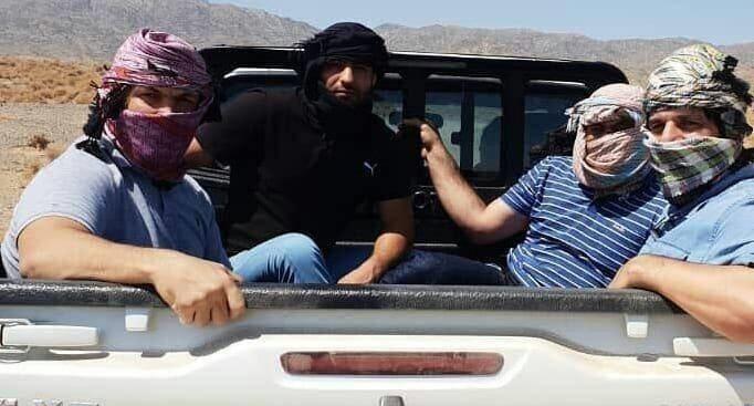 ۴ قهرمان کشتی در سیل سیستان و بلوچستان +عکس