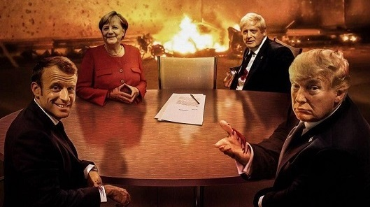 پوستر سایت رهبر انقلاب درباره مذاکره با آمریکا +عکس
