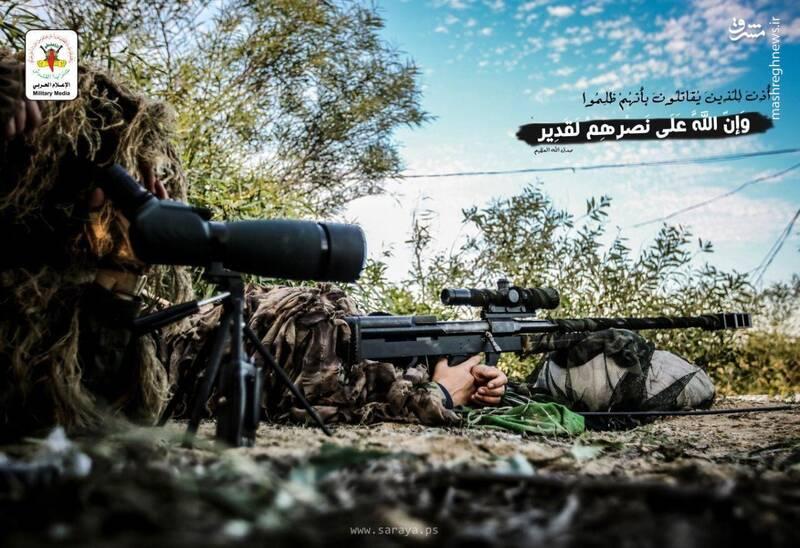 تک تیراندازان آماده شلیک به سربازان اسرائیلی +عکس