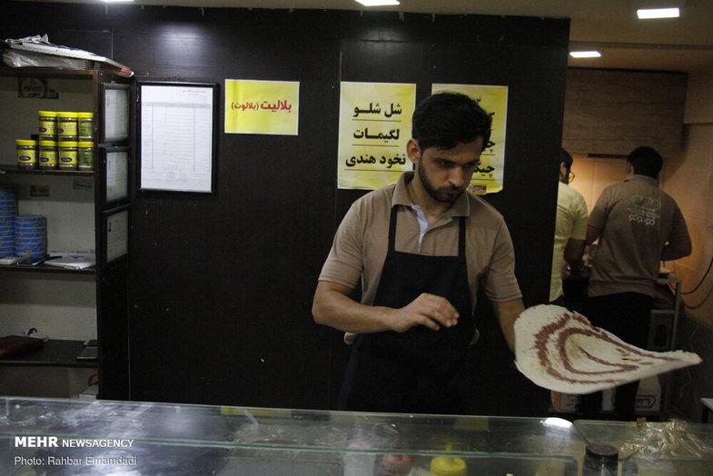 نان ایرانی که اماراتیها به نام خودشان زدند +عکس