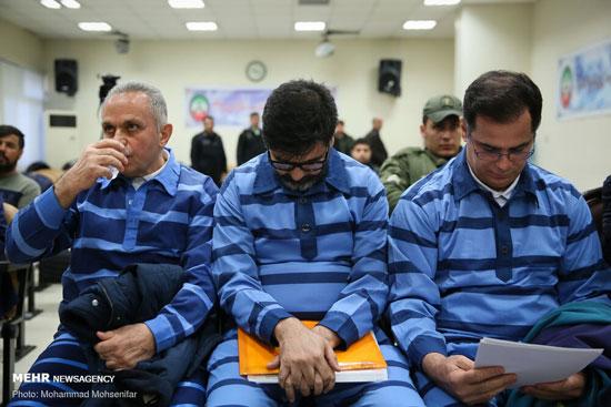 دادگاه محاکمه ۱۲ اخلالگر نظام ارزی کشور +عکس