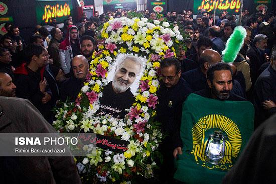 جای خالی سردار سلیمانی در یک مراسم +عکس