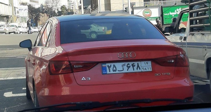 خودرو لاکچری ۴ میلیارد تومانی در خیابانهای ایران +عکس