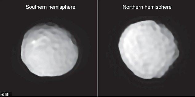 انتشار تصاویر سیارکی که به توپ گلف معروف است