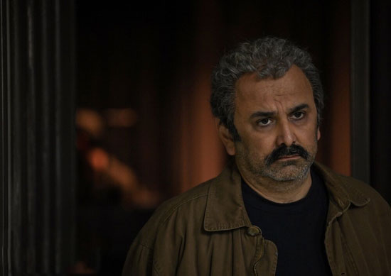 گریم حبیب رضایی در سریال جدیدش +عکس