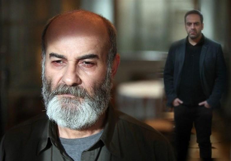 گریم متفاوت علی عمرانی در سریال پرگار +عکس