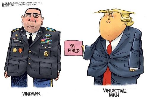 انتقام ترامپ شروع شد +عکس