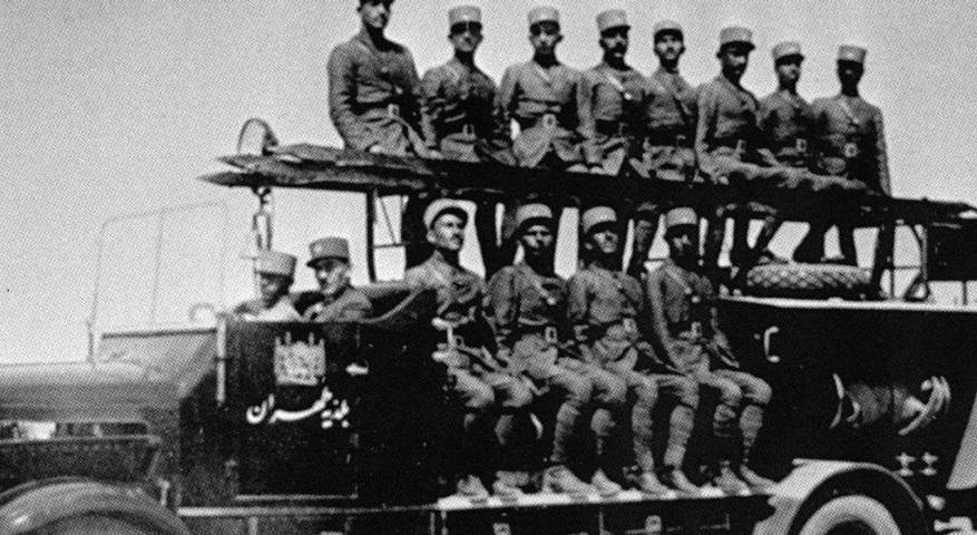 اولین آتش نشانی تهران  در سال ۱۳۱۰ +عکس
