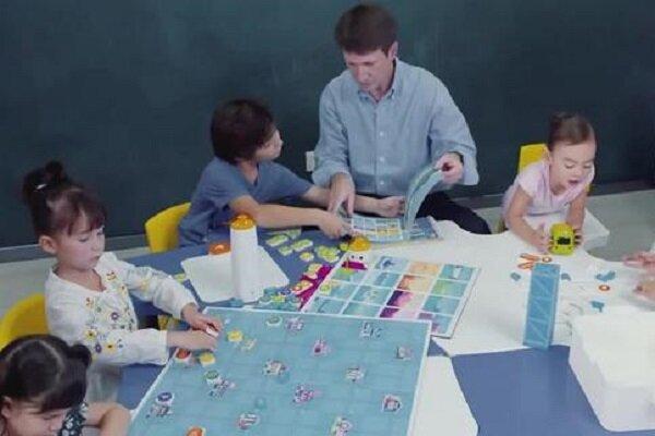 آموزش کدنویسی به کودکان ۴ ساله با بازی