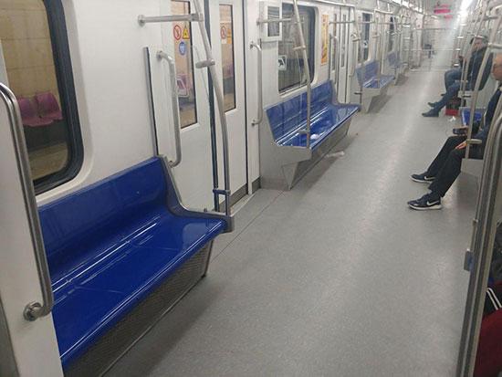 وضعیت مترو تهران پس از شیوع کرونا +عکس