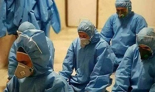 تصویری خاص از پزشکان ایرانی که غوغا به پا کرد +عکس