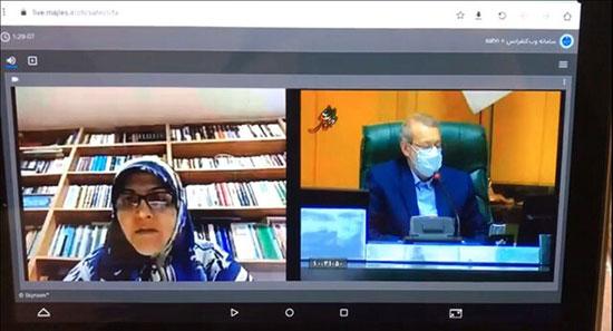 برگزاری دومین جلسه مجازی مجلس +عکس