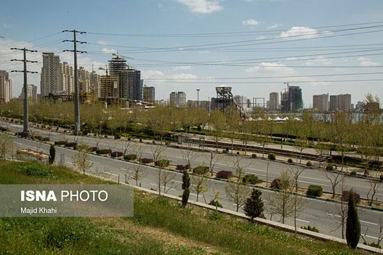 سیزده بدر کاملا متفاوت در تهران +عکس