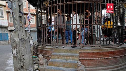 مجازات عجیب کسانی که قرنطینه را شکستند +عکس
