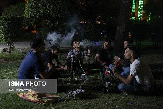 جوانان اهوازی در حال بازی با جان خود+عکس
