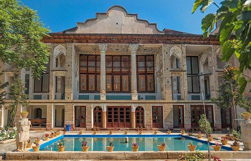خانه امام جمعه در بازار تهران +عکس