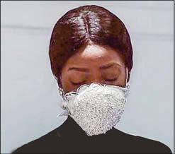 ماسک عروس لاکچری ۵۰۰ هزار تومانی +عکس