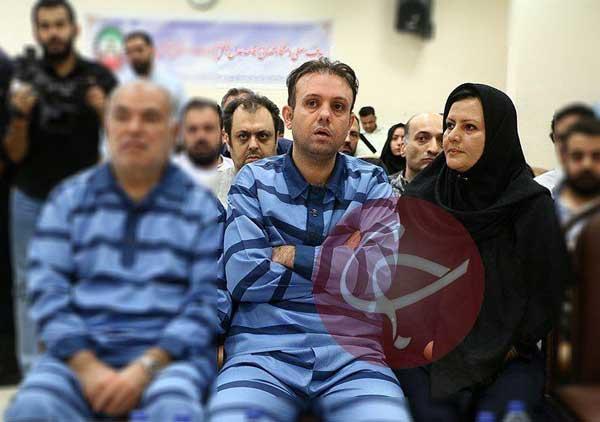 سلطان خودرو و همسرش در دادگاه+عکس