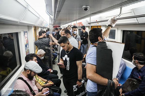 خداحافظی تهرانیها با کرونا +عکس