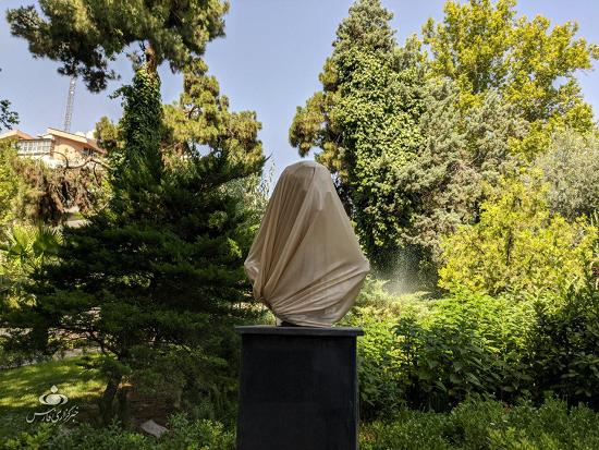این مجسمه سردار سلیمانی است؟ +عکس
