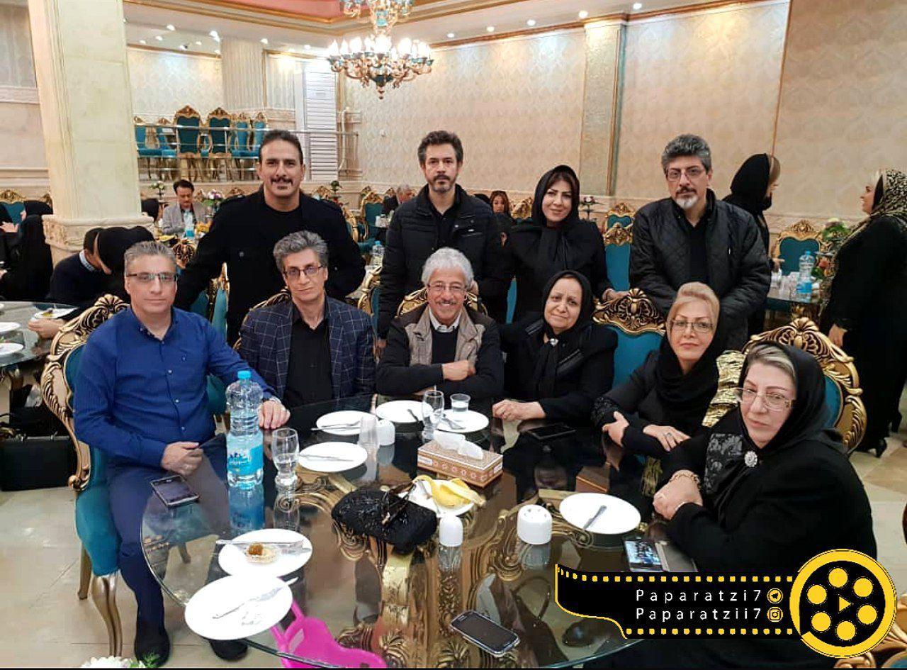 خانواده پرجمعیت علیرضا خمسه+عکس
