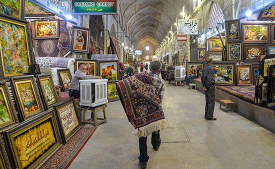 بازار شیراز بدون مشتری شد+عکس