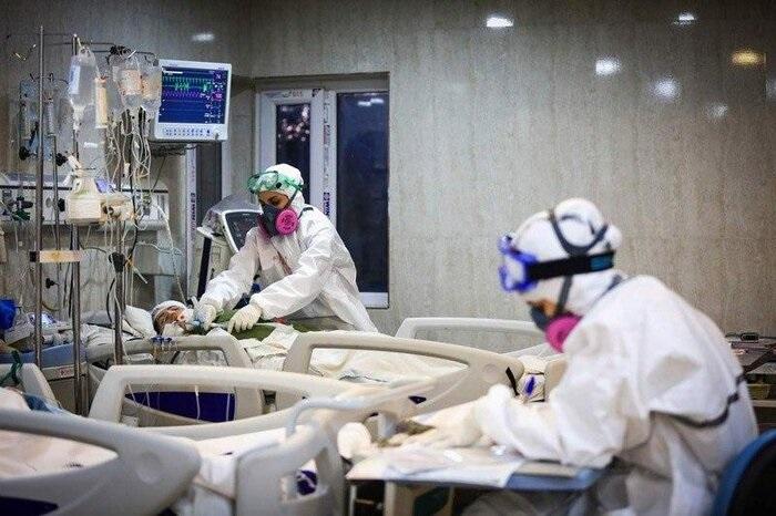 انفجار بیمارستان امام خمینی لبریز از بیمار