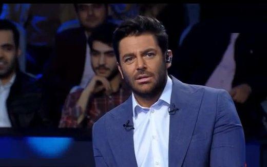 رضا گلزار در زمین فوتبال+عکس