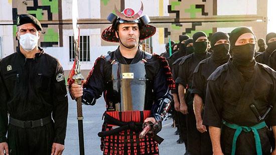 سرباز سامورایی در مانور یگان ویژه اصفهان +عکس