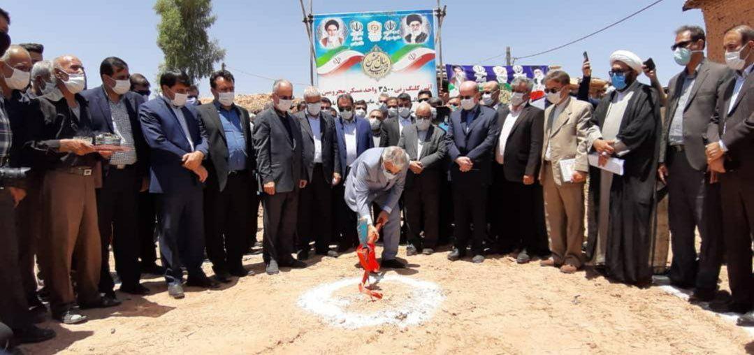 مراسم کلنگ زنی نوبخت در شیراز سوژه شد +عکس