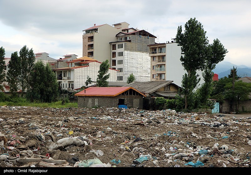 تصاویر دردناک از ساحل گیلان+عکس